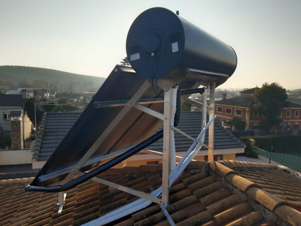 placas solares agua caliente en cordoba