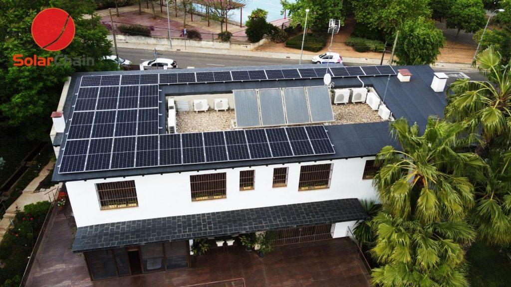 placas solares Solarchain